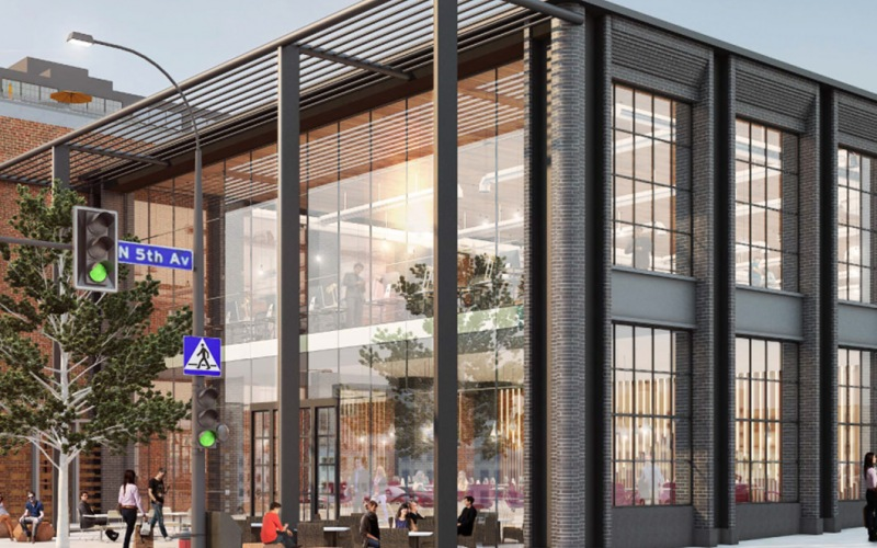 exterior rendering of the Duffy